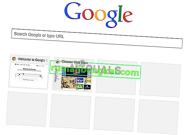 תיקון: התמונות הממוזערות ביותר של Google Chrome שאינן מוצגות
