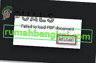 תיקון: שגיאה בטעינת מסמך PDF ב- Chrome נכשלה