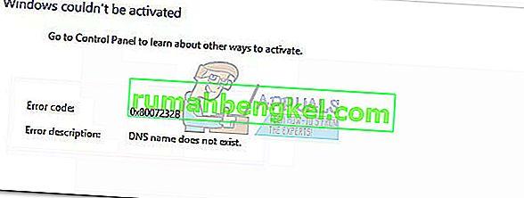 修正:エラー0x8007232b' DNS名が存在しない'