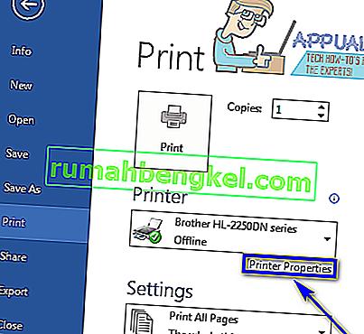 Cómo imprimir en blanco y negro en Microsoft Word