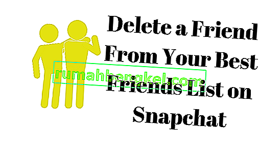 Jak usunąć kogoś z listy najlepszych przyjaciół na Snapchacie