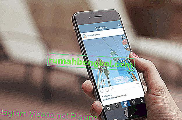 תיקון: סרטוני אינסטגרם אינם פועלים במכשירי Android