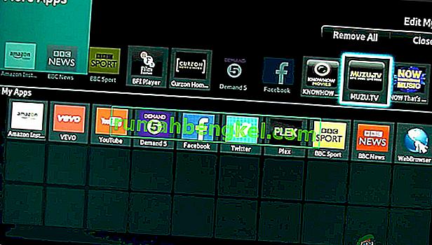 כיצד לטעון אפליקציות בצד הטלוויזיה החכמה (Hisense)