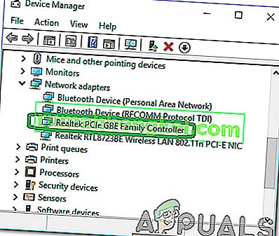 Cómo reparar & lsquo; Controlador de la familia Realtek PCIe GBE & rsquo; ¿No funciona a toda velocidad?